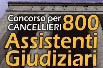800 cancellieri concorso